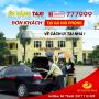 Én Vàng Taxi tiếp tục được chọn chở khách hàng về cách ly tại nhà ở Ga Hải Phòng